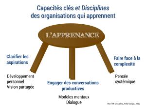 Organisation apprenante : les capacités clés des entreprises qui apprennent